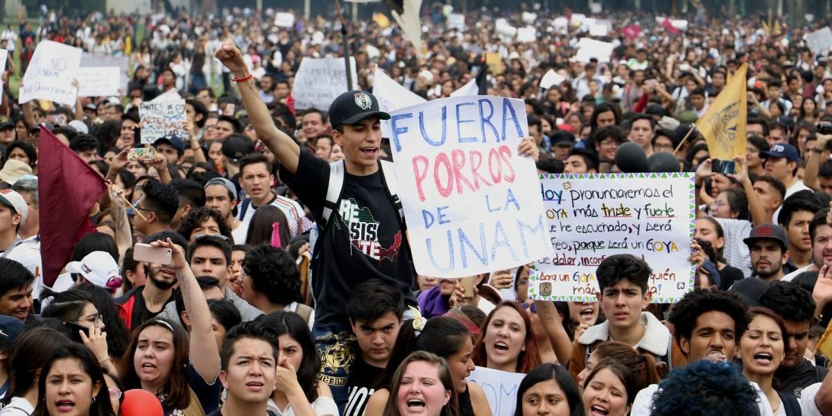 Suman 22 detenidos por hechos violentos en Ciudad Universitaria
