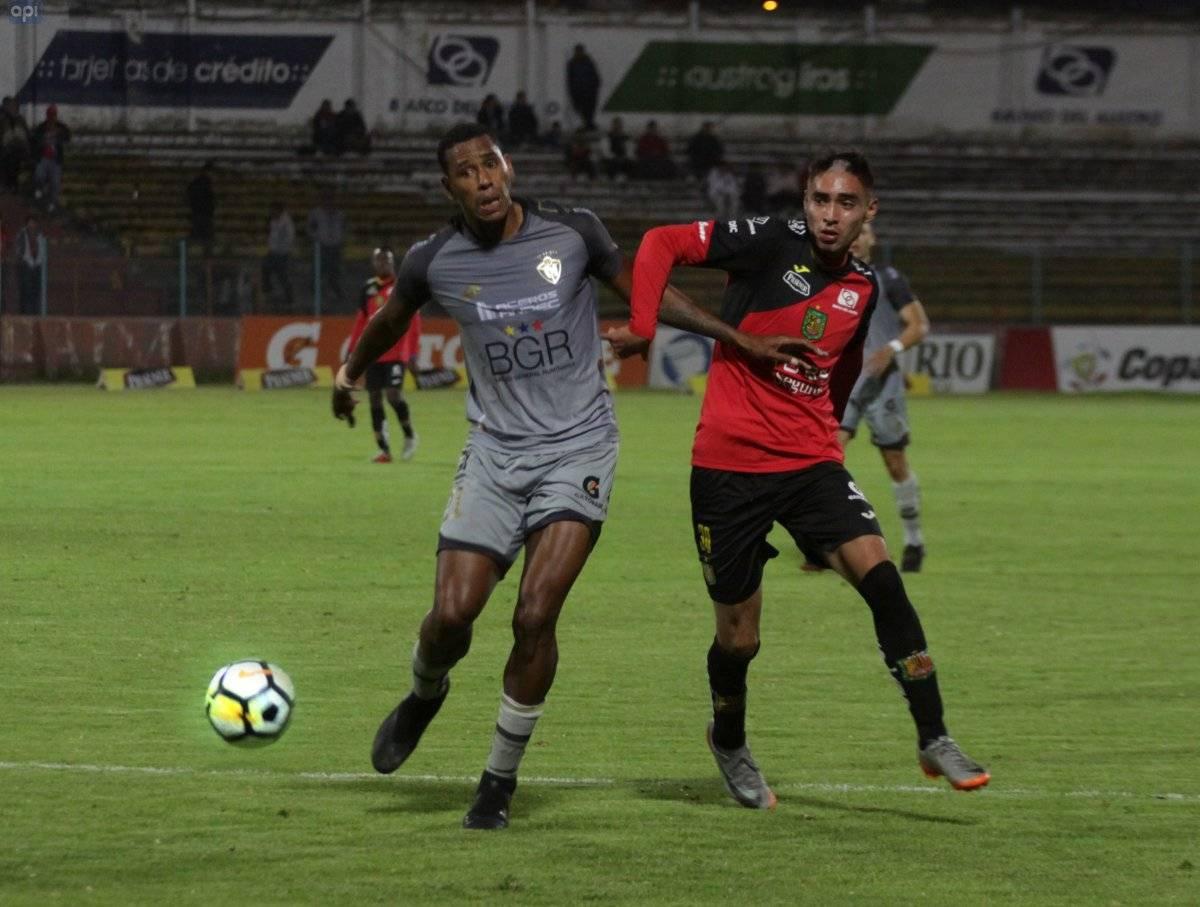 Cuenca 26 de octubre del 2018 En el estadio Alejandro Serrano Aguilar el D.Cuenca le gano 2 a 0 al El Nacional.foto api/Boris Romoleroux