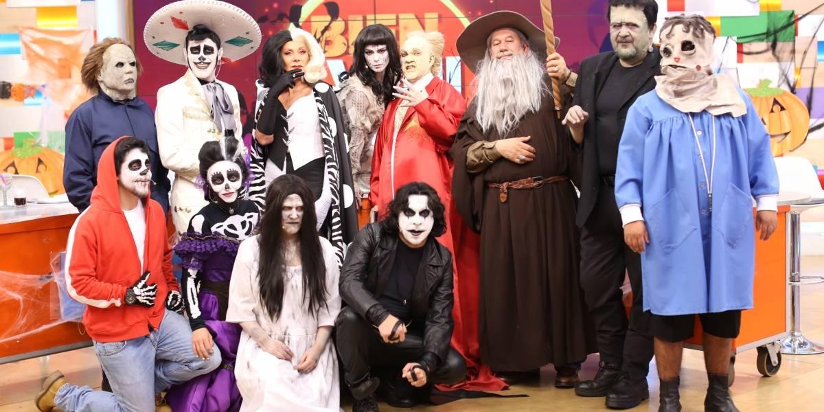 """¡Irreconocibles! Panelistas de """"Bienvenidos"""" se lucen con sus disfraces de Halloween"""