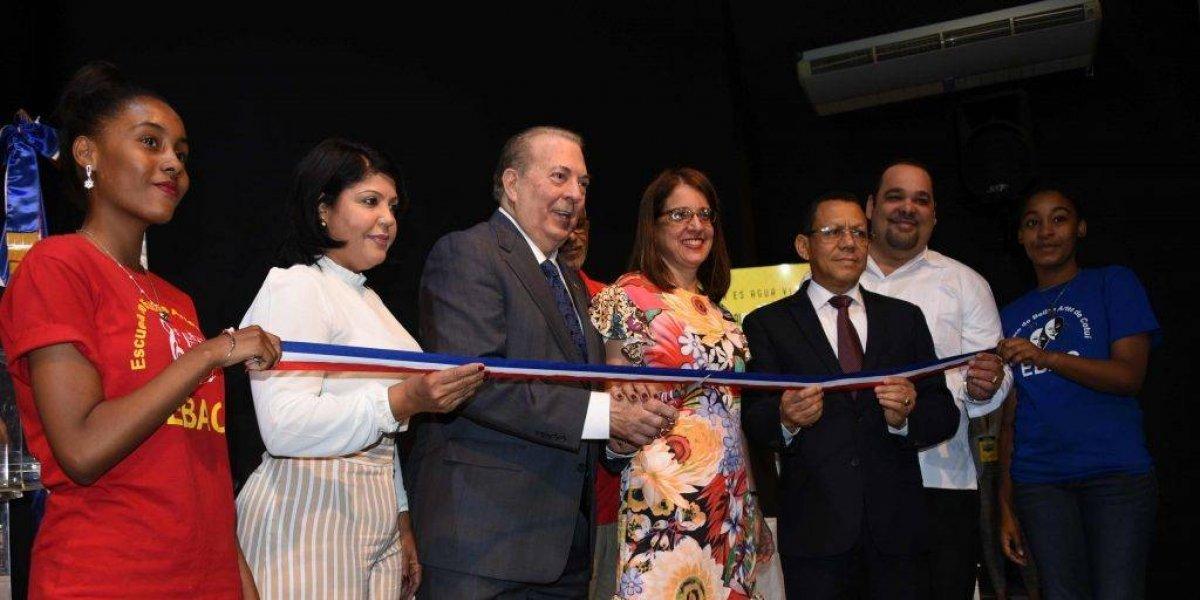 Queda inaugurada la XIV Feria Regional del Libro y la Cultura Cotuí 2018