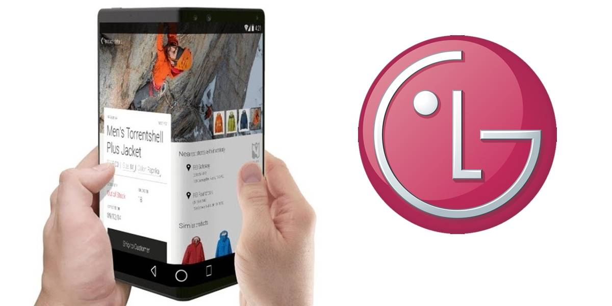 LG presentaría un smartphone plegable en el CES 2019