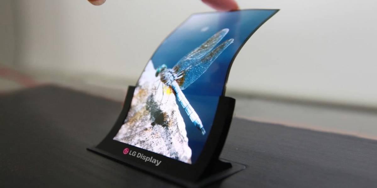 LG presentaría un smarpthone plegable en el CES 2019