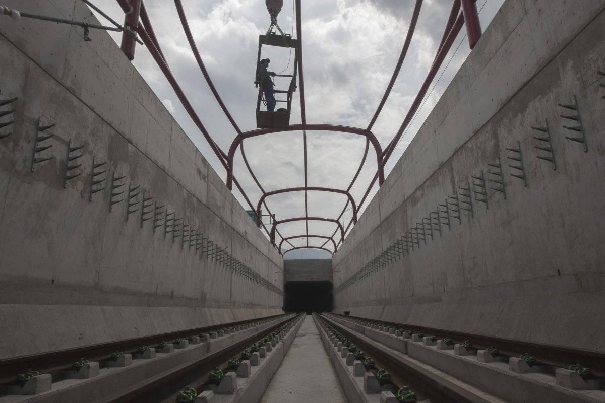 Línea 3 del metro de Monterrey Foto: Cuartoscuro