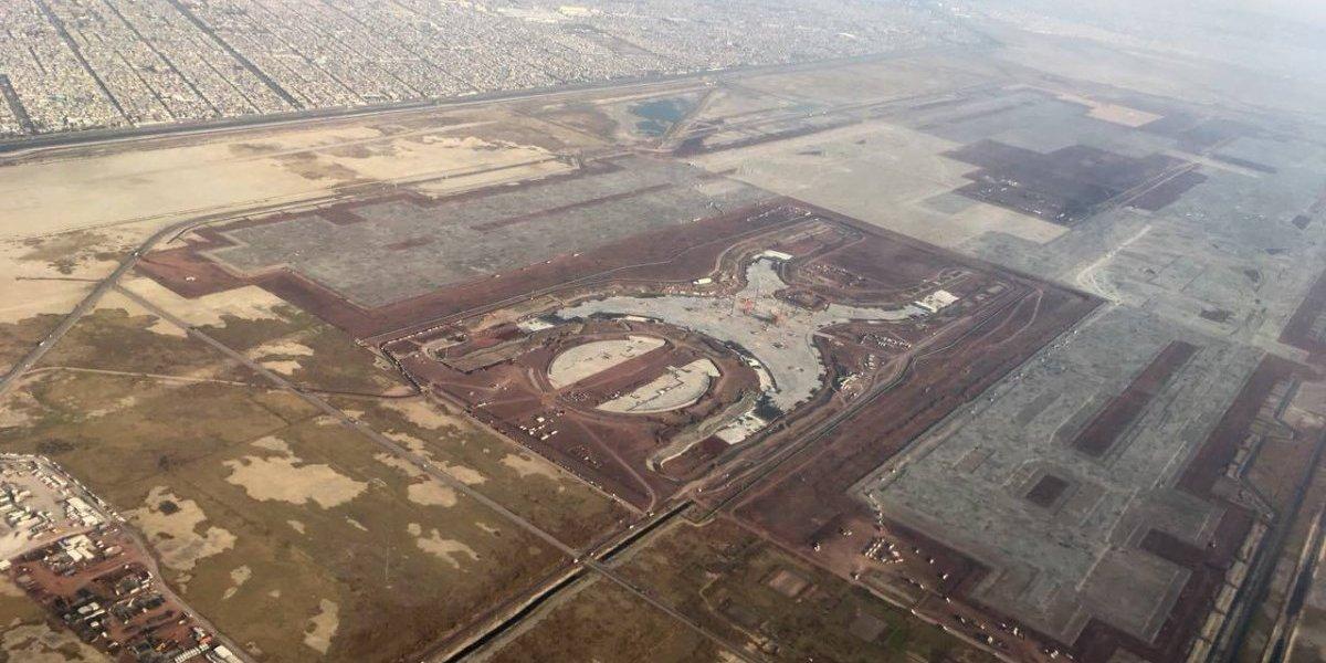 Obras del NAIM de Texcoco continuarán hasta nuevo aviso