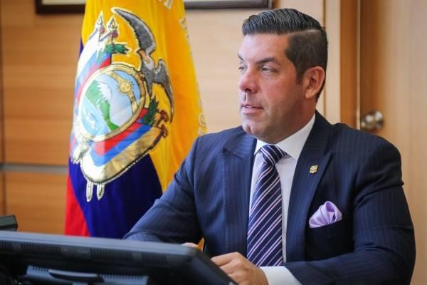 Raúl Ledesma, ministro de Trabajo de Ecuador