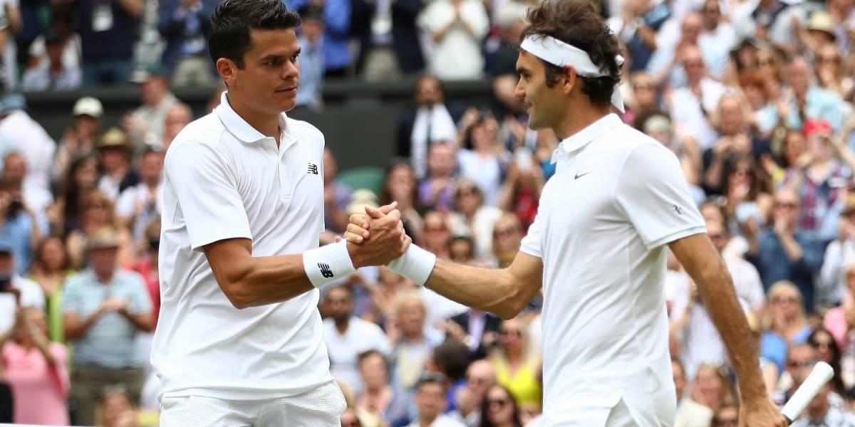 Raonic se retira y Federer consigue pase a siguiente ronda en París