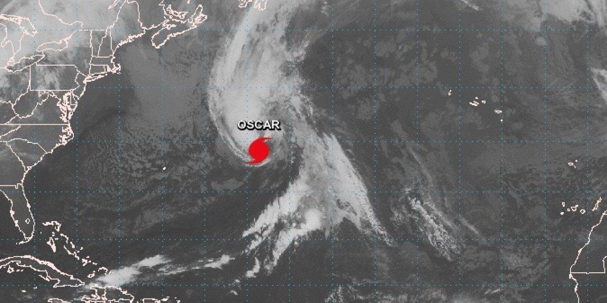 Se debilita el huracán Oscar