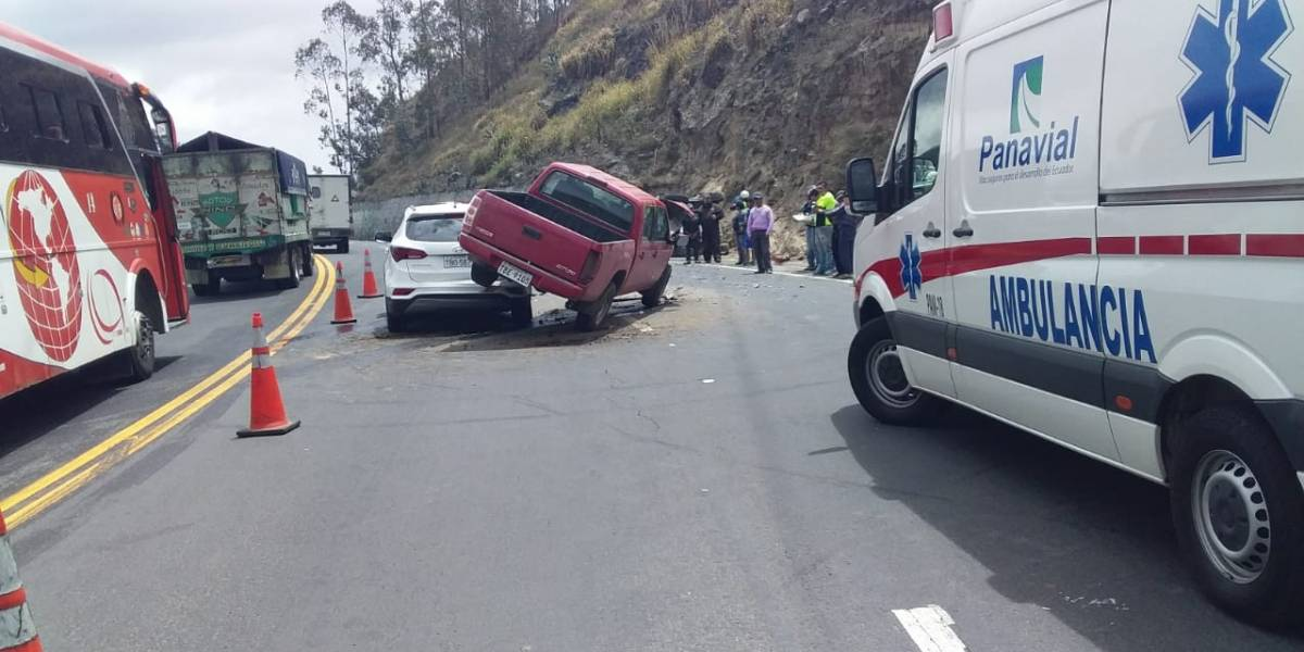 Varias personas heridas en dos accidentes de tránsito en la Panamericana Norte