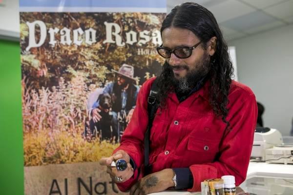 Draco Rosa lanza su marca de cannabis medicinal