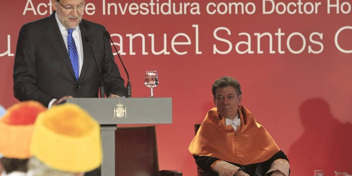 """La foto de Juan Manuel Santos para """"celebrar"""" Halloween, según su hijo."""
