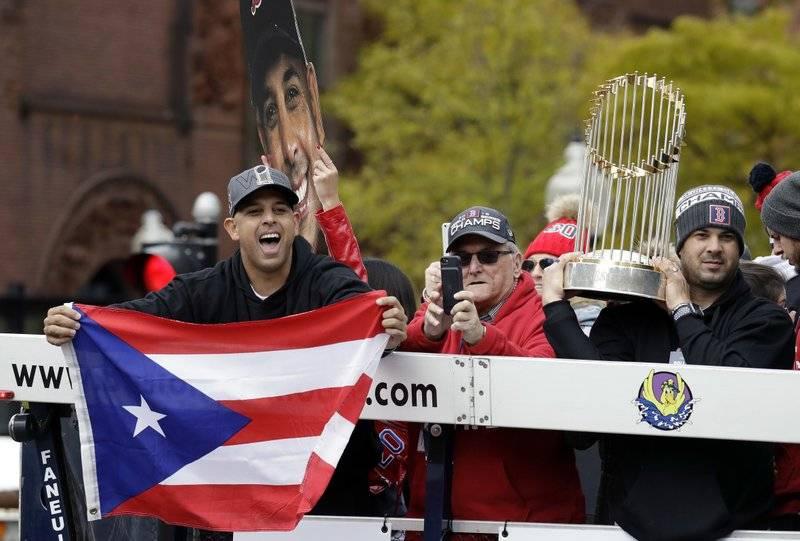 Red Sox Parade (AP)