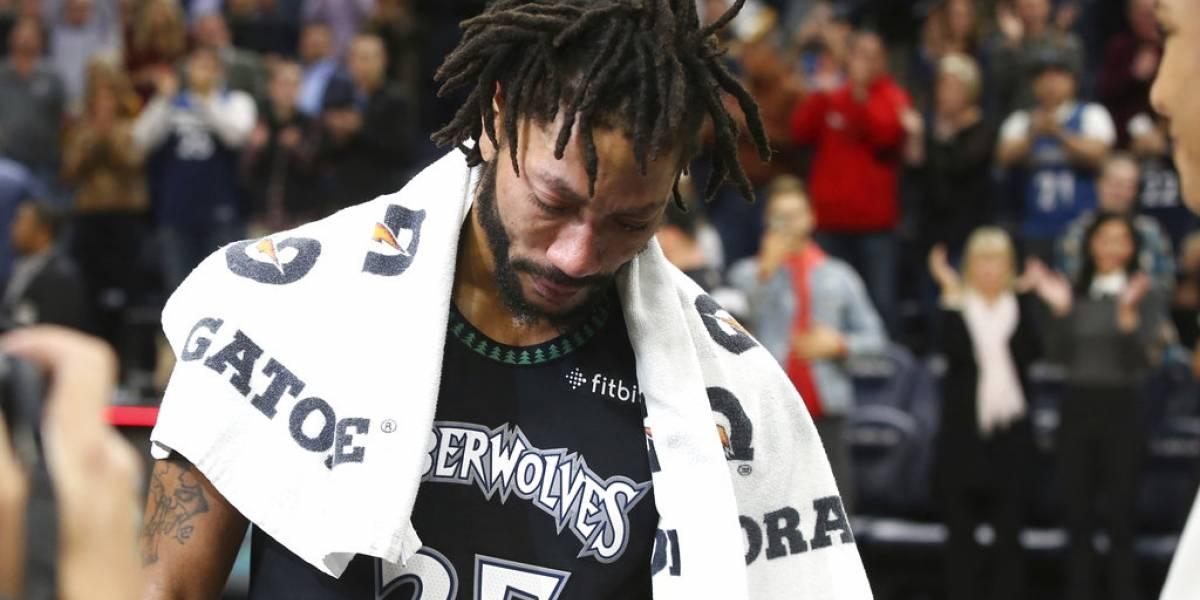Baloncelista rompe en llanto tras anotar 50 puntos