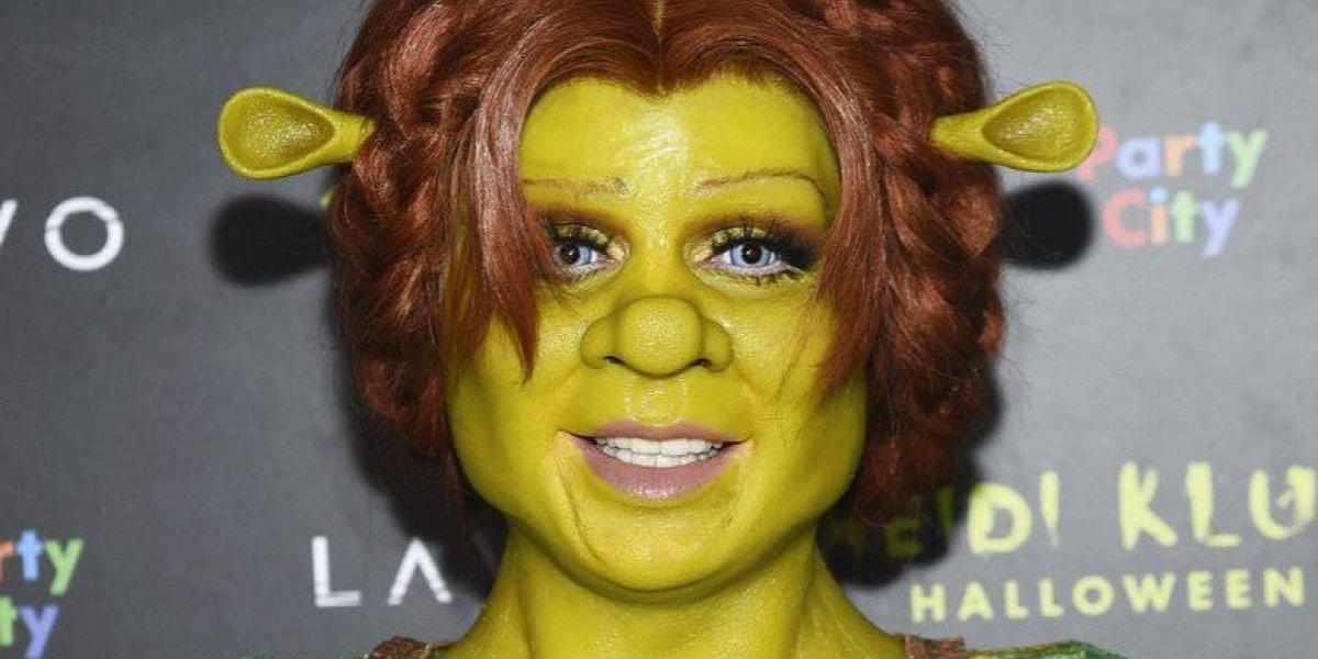 Heidi Klum vuelve a sorprender con espectacular disfraz