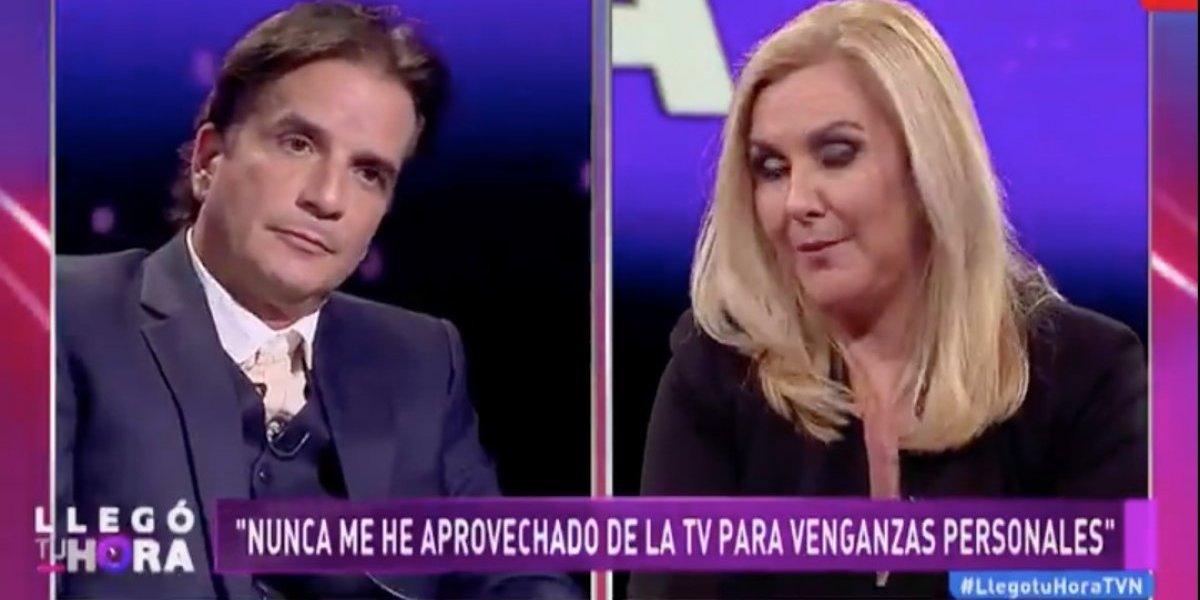 """El duro round de Pablo Mackenna contra Pamela Jiles: """"La más miserable fuiste tú"""""""