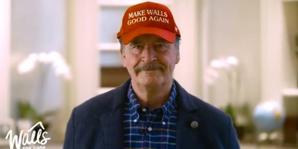 Ofrece Fox a Trump ayuda para pagar muros en México y EU