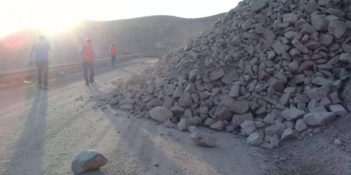 Sismo de magnitud 6.2 sacude el norte de Chile