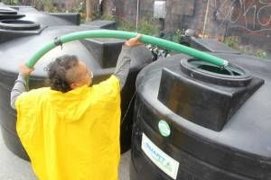 Reparto de agua CDMX