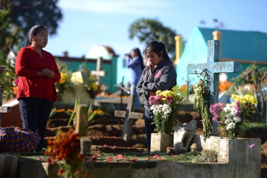 Cementerio de Santiago Sacatepéquez. Foto: Alejandro García