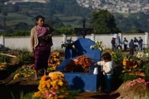 Cementerio de Santiago Sacatepéquez.
