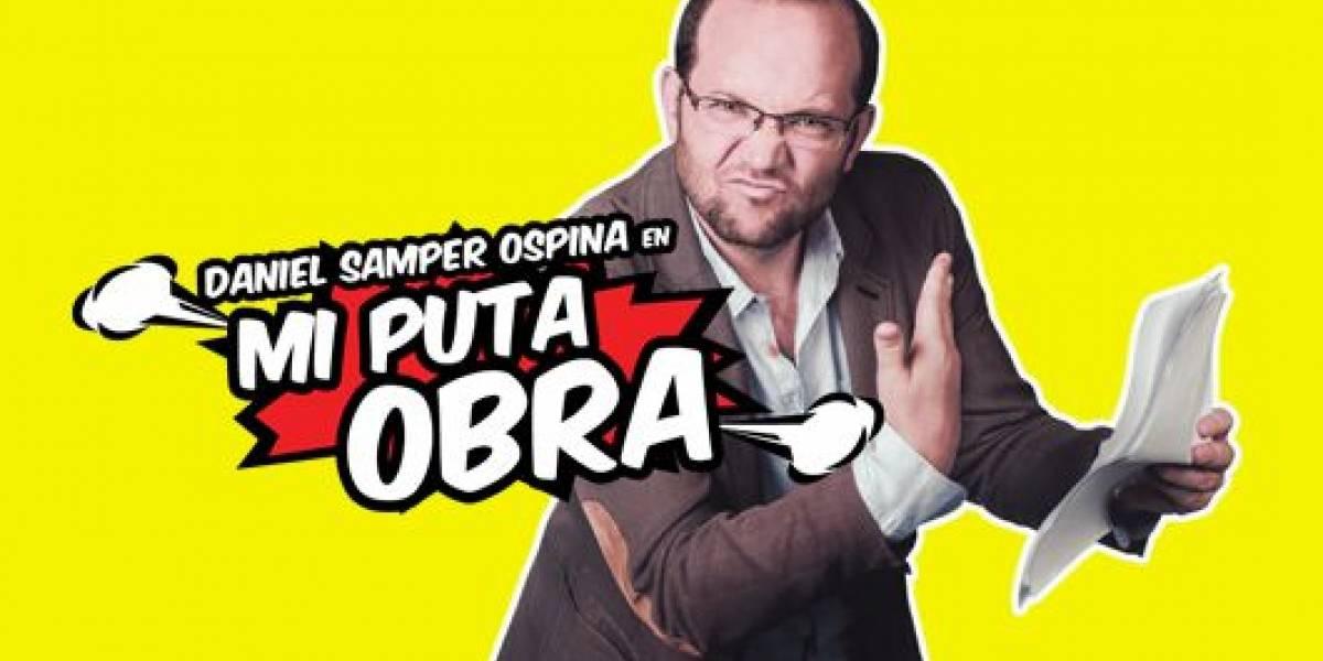 Daniel Samper Ospina con el montaje 'Mi puta obra', se presenta en Barranquilla