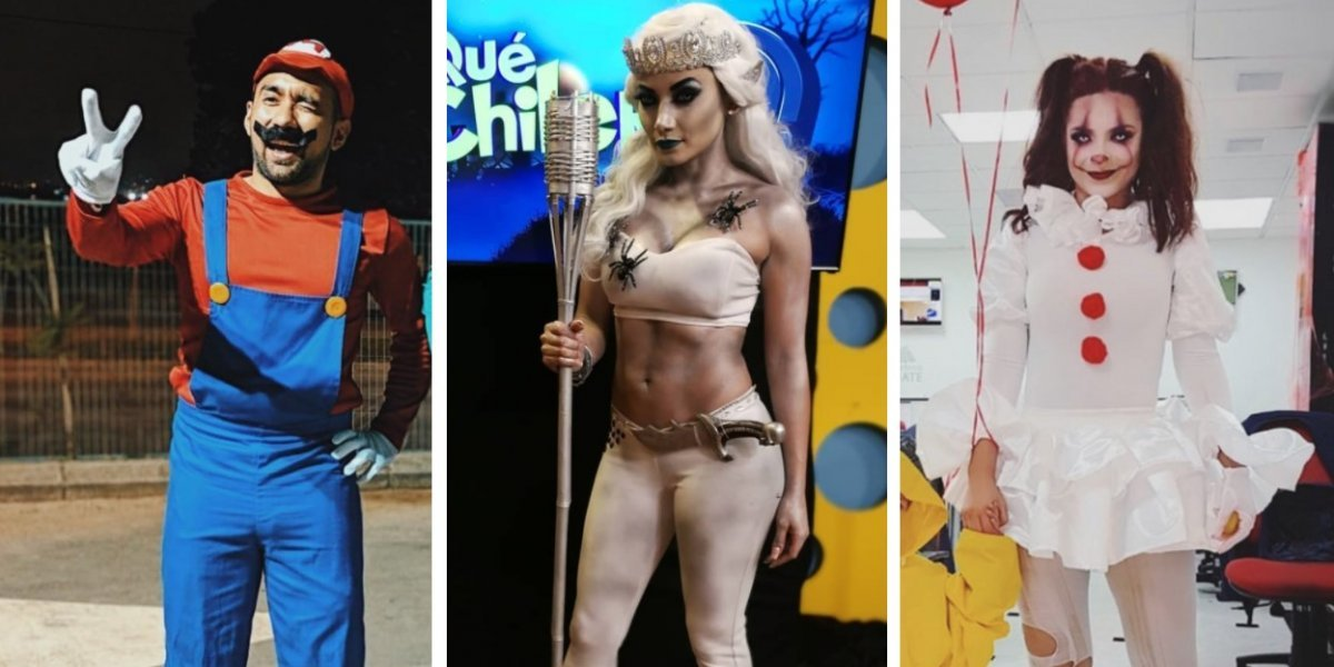 FOTOS. Los disfraces más sexys y terroríficos de las celebridades guatemaltecas