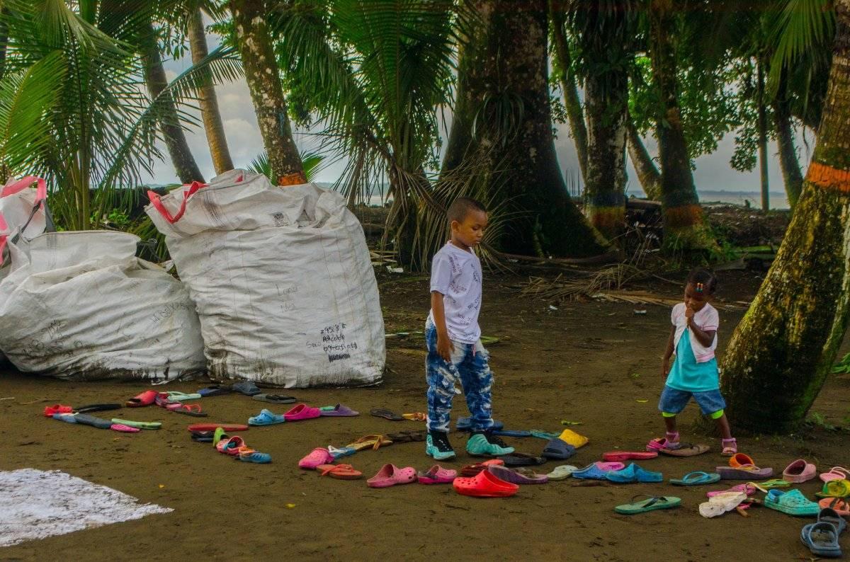 La organización EcoPazífico irá una vez al mes a liderar jornadas de recolección de residuos sólidos. Foto: Papagayo Trip