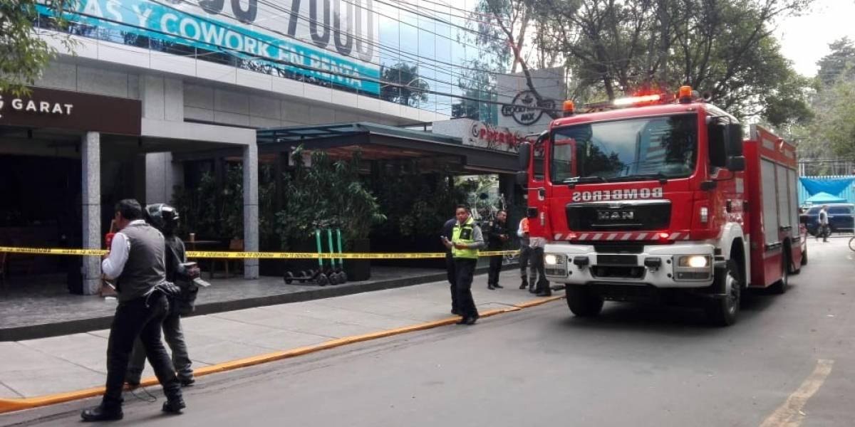 Explosión en Lomas de Chapultepec deja 2 heridos