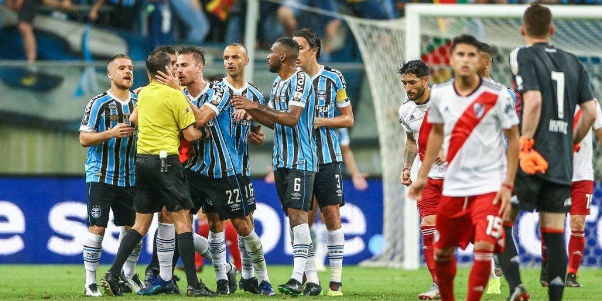 """Gremio confía en que vencerá a River en el escritorio: """"Esperamos el 3-0 para pasar a la final de la Libertadores"""""""