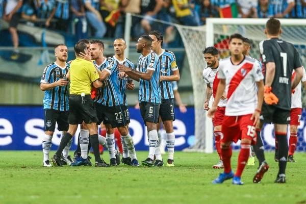 Gremio podría pasar a la final de la Libertadores 2018 tras haber perdido en cancha ante River Plate / Foto: Getty Images