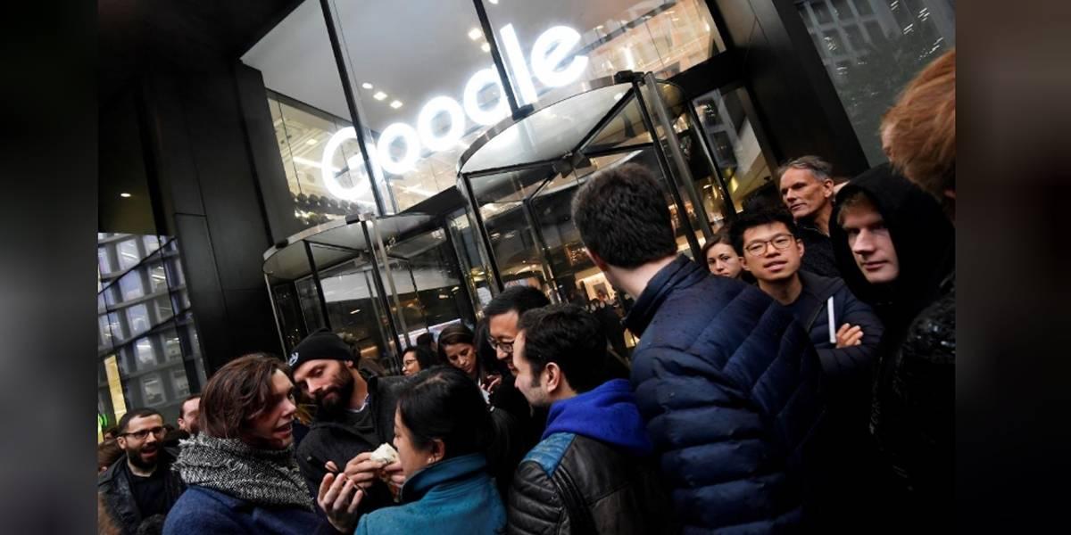 Empleados de Google inician protesta mundial por escándalos de acoso