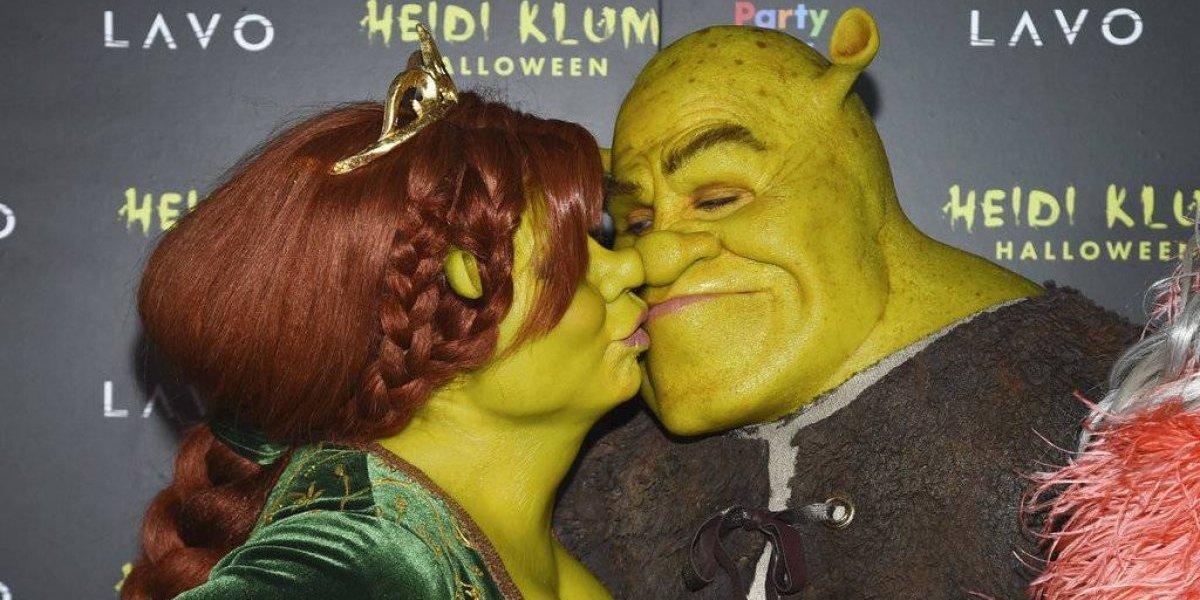 "EN IMÁGENES. Heidi Klum opta por ""Shrek"" para Halloween 2018"