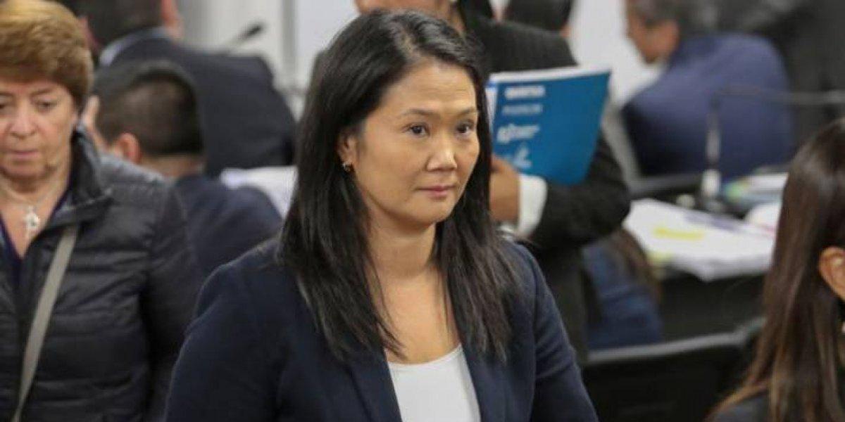 """""""Keiko Fujimori es la primera presa política del país"""""""