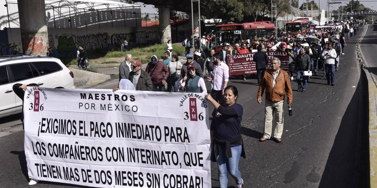 Maestros por México celebran iniciativa para cancelar reforma educativa