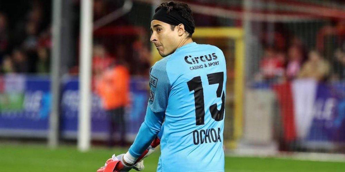 Guillermo Ochoa, jugador del mes del Standard de Lieja