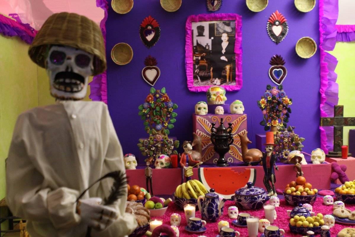 Día de Muertos en el Zócalo Foto: Cuartoscuro