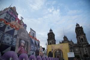 Día de Muertos en el Zócalo