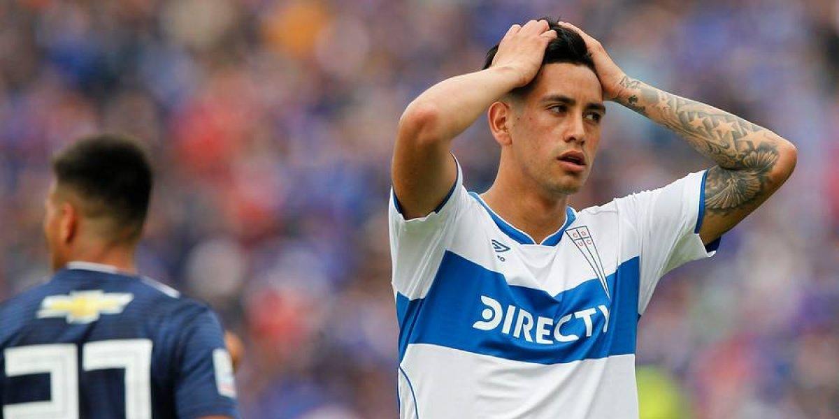 """La UC jugaría la """"final"""" con Antofagasta con el mismo equipo que perdió ante la U"""