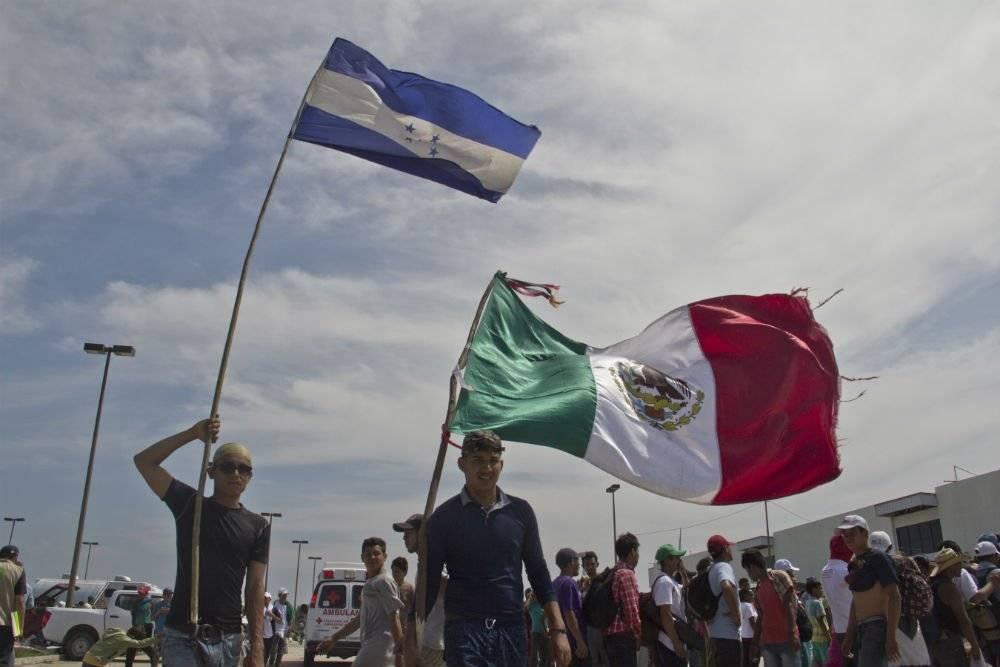 Los gobiernos de México, El Salvador, Guatemala y Honduras rechazaron usar la violencia para frenar a los migrantes Foto: Cuartoscuro