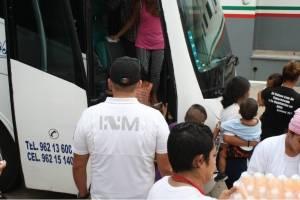 Retorno de migrantes centroamericanos