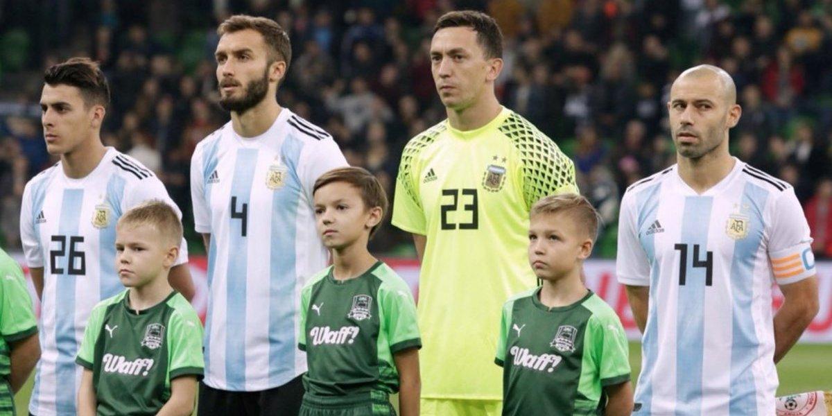 Sin Messi y con Marchesín, Argentina enfrentará al Tri