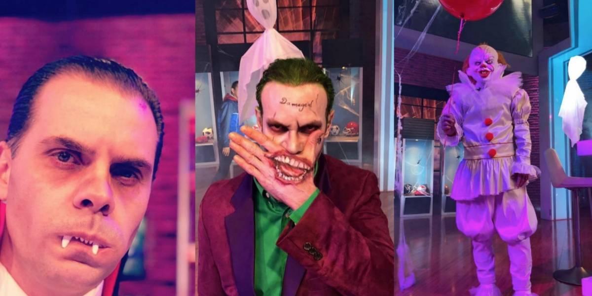 Martinoli, Zague y García sorprenden con atuendos de Halloween