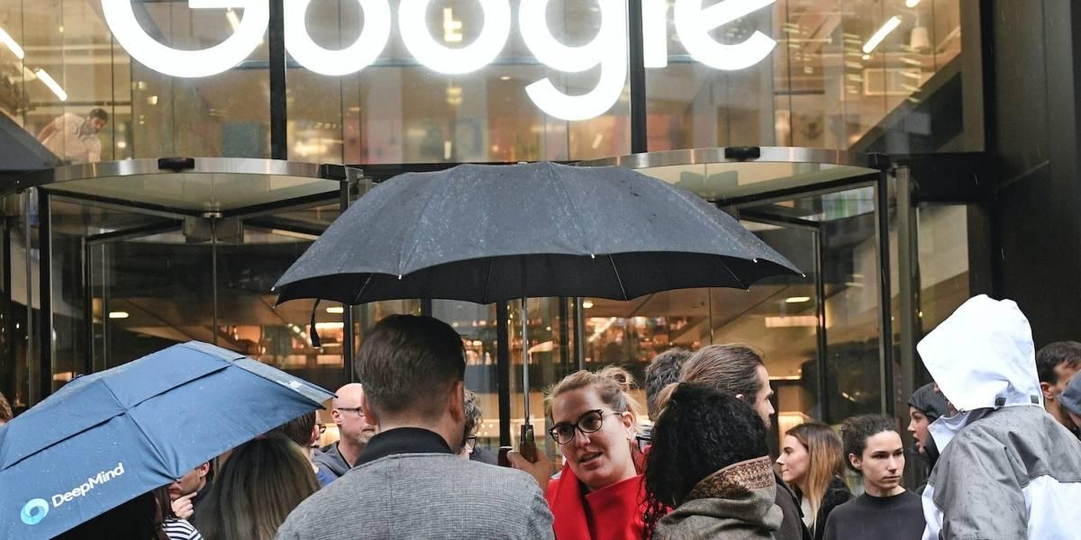 Empleados de Google paran en protesta por trato a mujeres