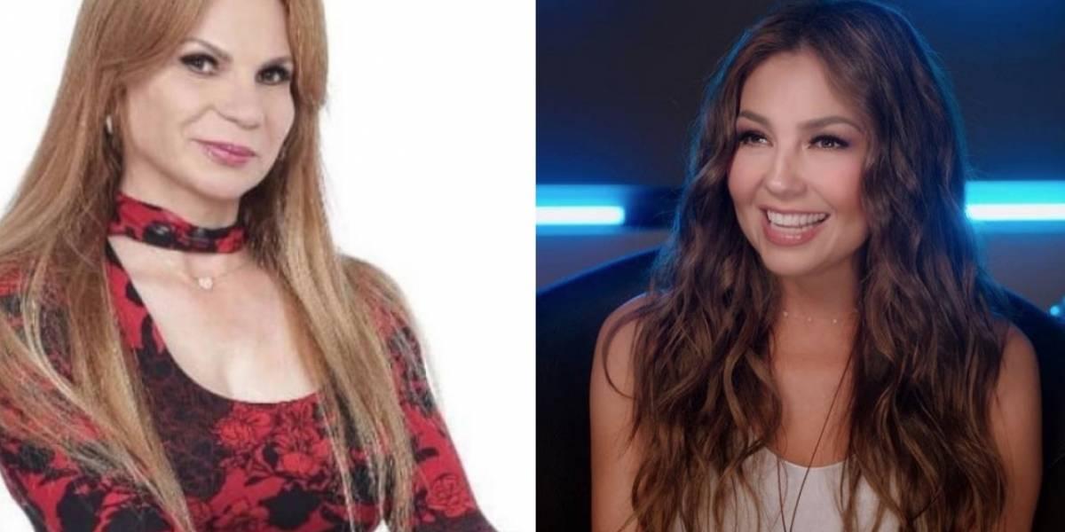 Thalía responde a Mhoni Vidente por incómoda predicción