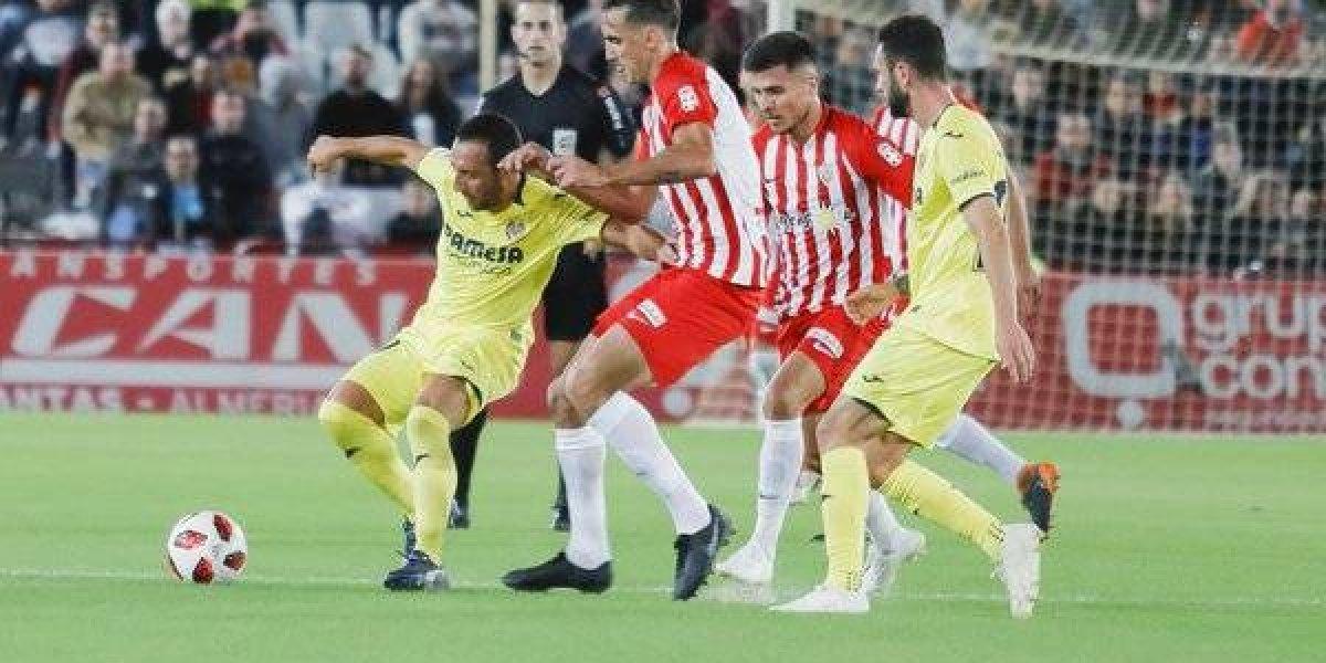 Manuel Iturra fue titular en empate del Villarreal en la Copa del Rey