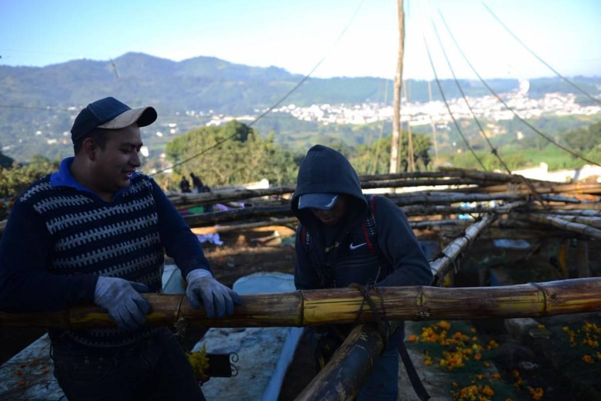 Barriletes gigantes de Santiago Sacatepéquez. Foto: Alejandro García