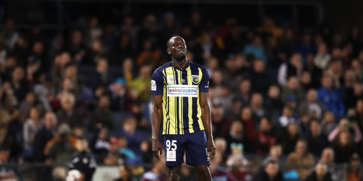 Usain Bolt deja el club australiano de fútbol en el que jugaba