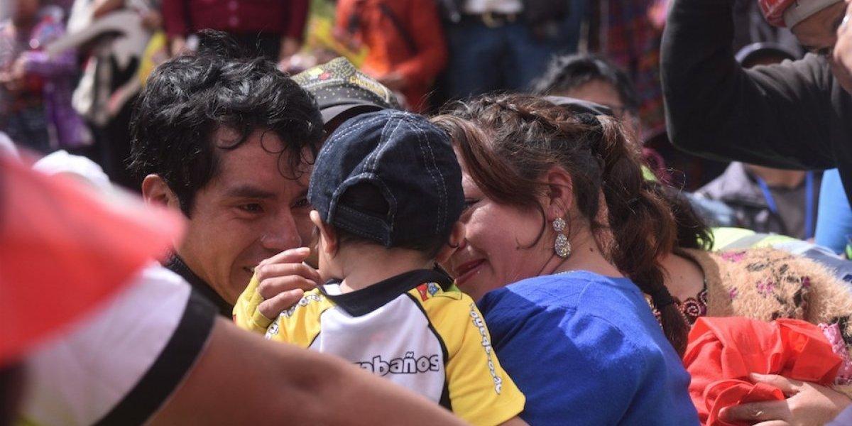 Wendy, la bombera que se robó el corazón del Campeón de la Vuelta