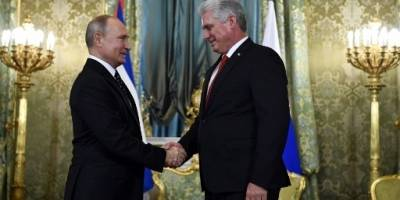 Encuentro Putin-Díaz Canel