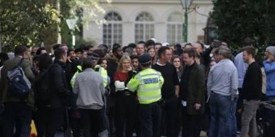 Dos personas fueron apuñaladas en la sede de Sony de Londres