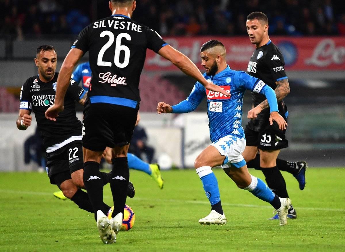 Juego Nápoles vs Empoli